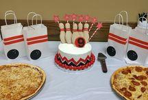 Bowling Birthdays / Cute ideas for Bowling Birthday parties!