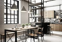 industrial design interiores