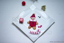 Casentbon : Noël - X-Mas - Christmas / #xmas #x-mas #santa #perenoel #sablee #biscuit #sucettechamallows #sucetteoreo #pluffff #christmas #noel