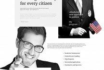 Politician Website