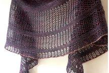 shawl knitting patterns