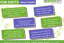 Fun Facts / Here you will find awesome fun facts about health. #HealthFunFacts #FunFactsAboutHealth #HealthInformation