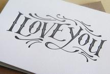 Calligraphy ideas / www.savethedates.ca
