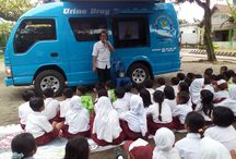 Sinau Bareng, BNN Kab.Kediri Di SDN Jagung Kenalkan Bahaya Narkoba