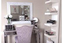 Vanity room-make up room