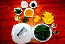 Ispanak Yatağında Deniz Levreği / Ispanak Yatağında Deniz Levreği yemek tarifi