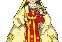 dibujos catolicos