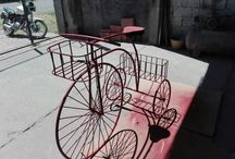 triciclo de jardín
