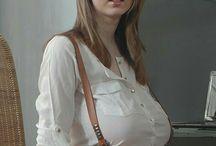Lucie Wilde / bra: 75 L (34 L) Natural / *1996