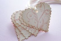 wedding tags / by Dazzling Props to Hire