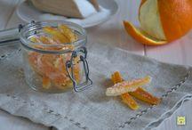 caramelle naturali di frutta candita  e /o gelatine + Creme e Ganas