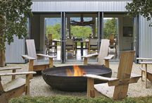 fire pits outside