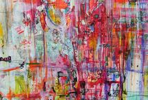 Art / I love how it is so messy it reminds me of splatter paint, I love this pic