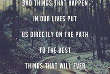 Inspirational quotes / by Jayalakshmi S