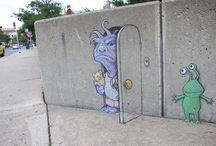 Dessin sur le mur