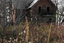 Eerie / Abandoned places, my obsession. / by Rasputin Adorable