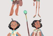 Kids Character Design