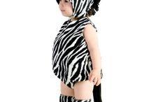 Zebra animal outfit