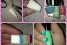 nails hair etc