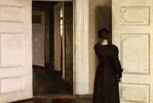 interiors / Interiors in painting
