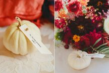 Fall Wedding Ideas / Fall wedding ideas and decor - wedding flowers, style, decoration. Wedding Planning.