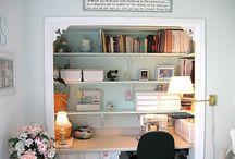 Studio ideas / Beautiful studios and amazing organizational ideas.