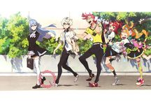 Kiznaiver | キズナイーバー / | Is a Japanese anime television series produced by Trigger, Aniplex and Crunchyroll and written by Mari Okada. | Anime Original Run: 2016 | Manga Original Run: 2016 -  present |