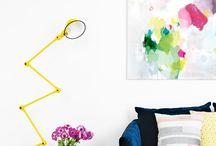 colour of art / love this art: fun, contemporary, abstract, colourful, graphic, geometric and more...