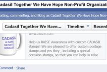 CADASIL Social Networking  / https://www.facebook.com/pages/Cadasil-Together-We-Have-Hope-Non-Profit-Organization/190494710963967   Facebook