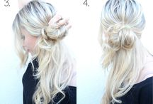 easy, simple hairstyles
