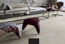 """March / April ad / On this ad we have a beautiful living room set up with the exquisite Collection """"Overall Cotton""""  Beautiful Porcelain Tile"""