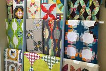 Quilt Racks / Different ways to display quilts.