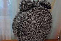 papírové pletení - různé
