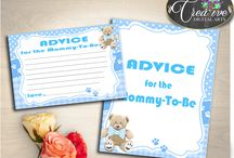 Baby Shower Games Boy Blue Teddy Bear Invitations, Decorations and more... / Hi, thank you for visiting this beautiful baby shower board with teddy bear blue theme. Here you can find a lot of baby shower decorations and activities with over 40 listings in this theme.