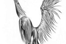 Engel tatto