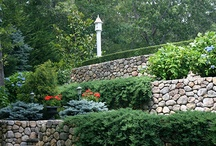 Saltbox/ Cape Cod Landscape Design / Get ideas and inspiration for your own Saltbox or Cape Cod-style landscape design. For a high-res, printable guide to this style, visit: http://www.landscapingnetwork.com/garden-styles/Saltbox-Landscape-Design.pdf