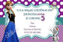 Birthday Ideas ~ Ava / Ava's turning 6!! / by Kendyl Snyder
