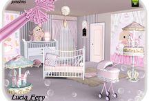 camere per bebè
