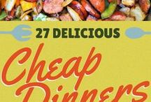 Delicious Cheap Dinners