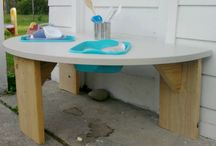 Sand vand bord