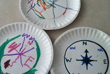 Compass activities / activities to learn how to use a compass
