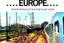 INSPO FOR INTER-RAIL EUROPE / European inter-railling: ideas and inspiration for an inter-rail trip around Europe