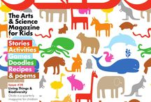 OKIDO Digital 14 / Digital images of Okido 14 which is all about living things!  / by OKIDO Magazine