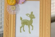 Cross stitch and embroidery / by Samantha Hopkins