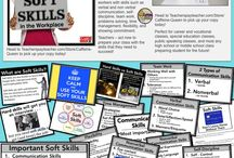 Career Education Classroom / Ideas, strategies, resources, and decor for Career Tech classrooms and teachers - Help students succeed in work, vocational skills, and career exploration!