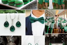 Emerald Green Wedding