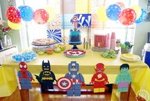 Lego Superheroes Party Ideas & Decorations / Lego Superheroes Super Hero Batman Personalised Birthday Party Decorations Supplies Packs Shop Online Australia Banners Bunting Wall Display Cupcake Toppers Chocolate Wrappers Juice Water Pop Top Labels Posters Lanterns Invites Cup Stickers Ideas Inspiration Cake Table Katie J Design and Events Robin Captain America Superman Spiderman Flash