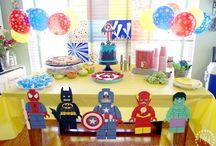 cumpleaños lego avengers Antoine