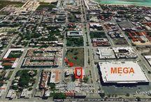 #Land for #sale in #downtown of #PlayadelCarmen / El terreno mide 250 M2 (25 X 10) y esta sobre la avenida 25 entre la Constituyentes y la calle 20. Por el momento hay un pre-proyecto de 9 condominios:  6 condos de 2 recamaras 2 Estudios 1 de una recamara Estacionamiento subterráneo Alberca en la terraza Elevador   El precio por M2 por el momento es de $900 Usd (total de $225,000 Usd).   Playa Realtors -4U #RealEstate #PlayadelCarmen #BienesRaíces PlayadelCarmen