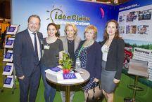 Team Idée Claire Communication / Au salon Idebba de la CCI Oise